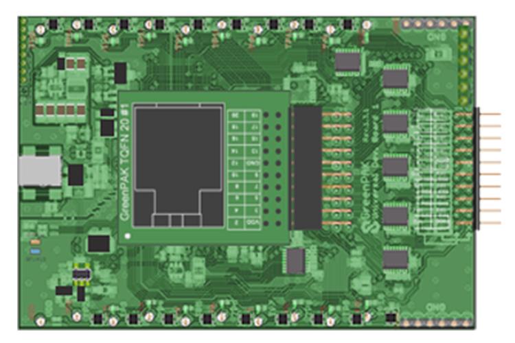 GreenPAK高级开发板