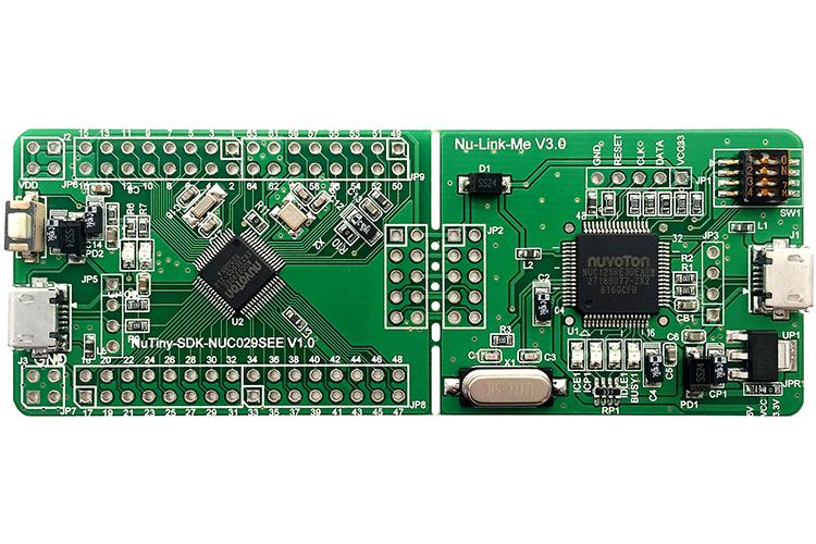 新唐NuTiny-NUC029SEE开发板
