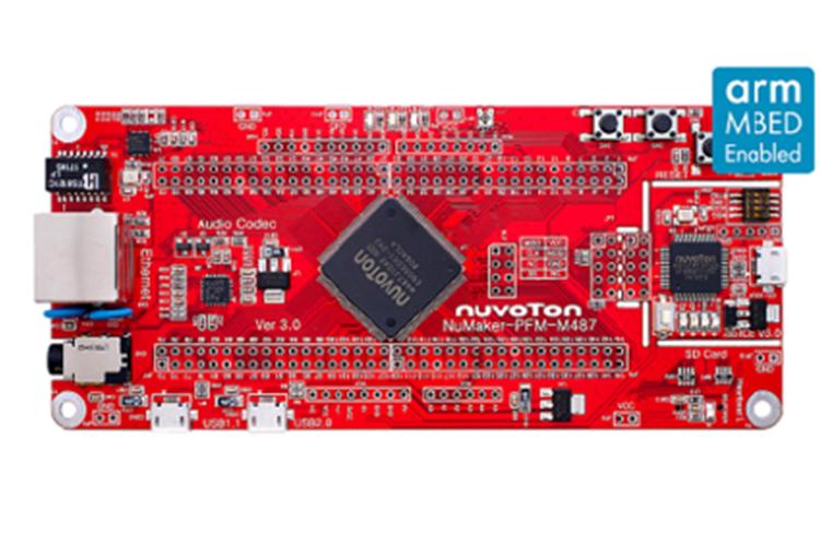 新唐NuMaker-emWin-M487 开发板