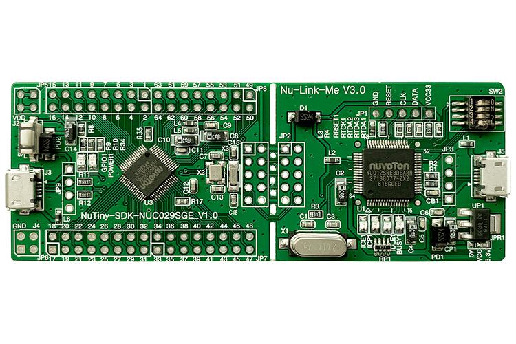 新唐NuTiny-NUC029SGE开发板