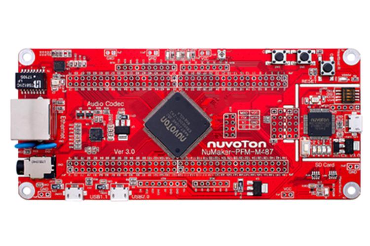 新唐NuMaker-PFM-M487开发板