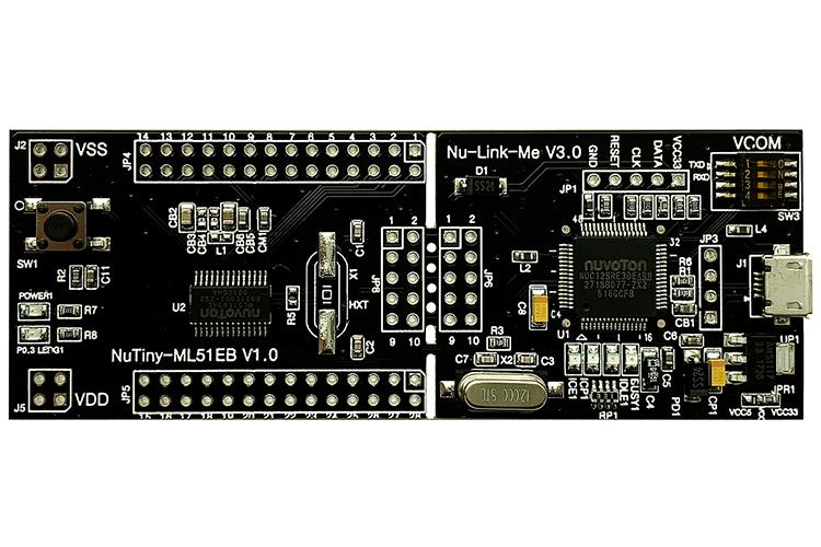 新唐NuTiny-ML51EB开发板